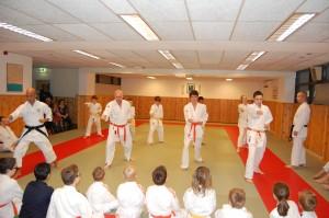 Demonstratie bij Judokai Born