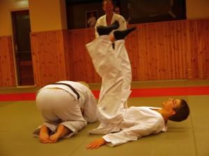 Valbreek training bij Judokai Born